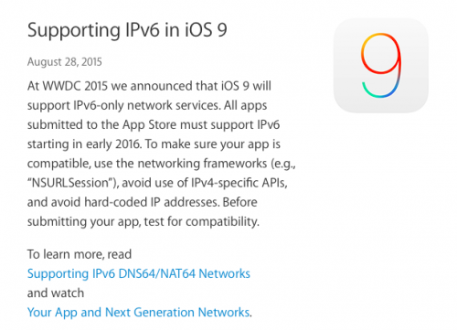 iOS-9-must-use-ipv6